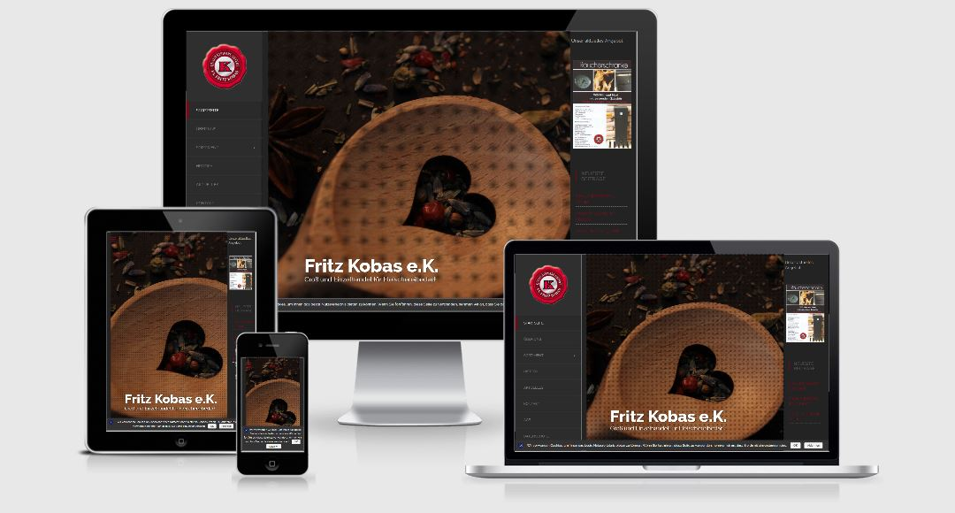 Webdesign Referenz Kobas.de